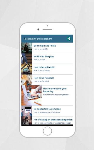 Personality Development App 2.3 screenshots 1