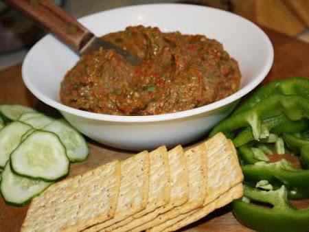 Roasted Eggplant Spread Recipe