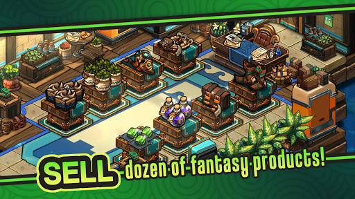 Tiny Shop: Idle Fantasy Shop Simulator modavailable screenshots 2
