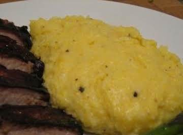 Slow Cooked Mascarpone Polenta