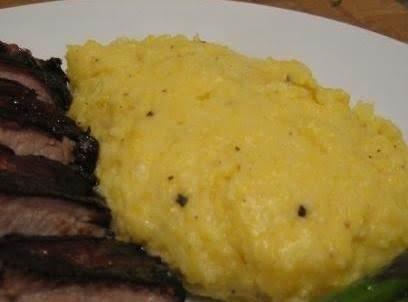 Slow Cooked Mascarpone Polenta Recipe