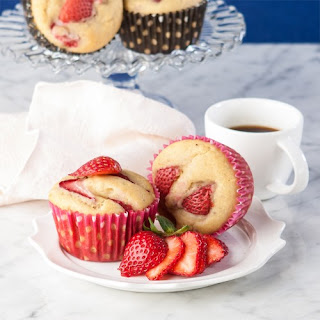 Strawberry Banana Muffins.