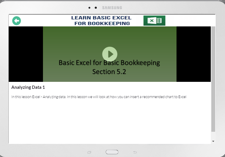 Learn Excel Fast- screenshot