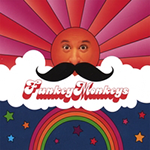FunkeyMonkeys: Moustache album cover