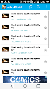 Daily Light Devotional- screenshot thumbnail