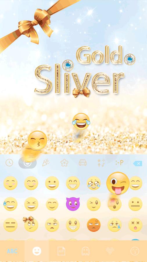 Gold-Sliver-Kika-Keyboard 10