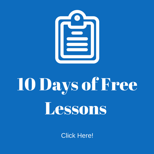 10 days of lesson plans