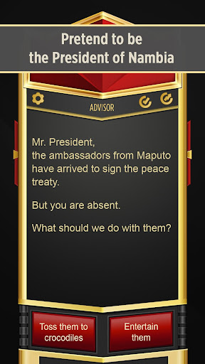 Mr. President u2013 Text Adventure cheat screenshots 1