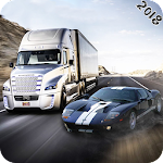 Highway Traffic Racer Fever : Traffic Racing Game Icon