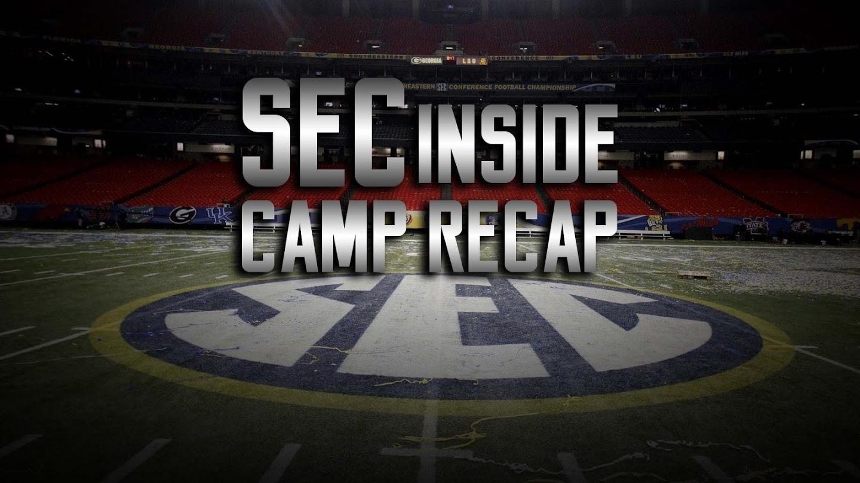 Watch SEC Inside: Camp Recap live