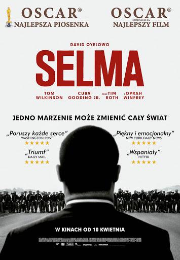 Polski plakat filmu 'Selma'