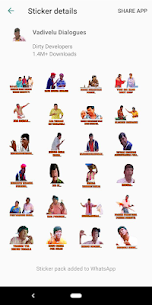 Tamil Stickers for WhatsApp (WAStickerApp) Download For Android 6