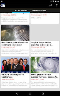 WRAL Weather- screenshot thumbnail