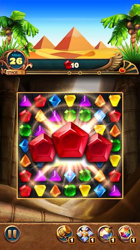 Jewels Treasure : Puzzle match 3  captures d'écran 1