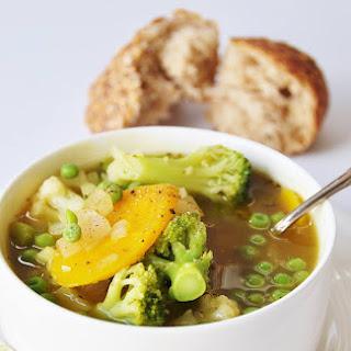 7 Ingredient 30 Minute Vegetable Soup.