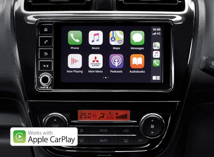 หน้าวิทยุแบบสัมผัส 7 นิ้ว รองรับ Apple CarPlay