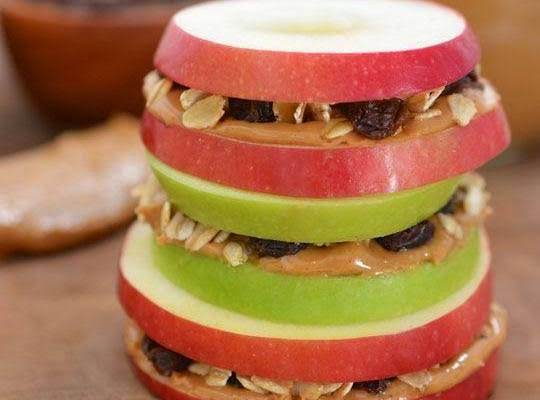 Peanut Butter And Apple Are Two Foods That Seem To Find Their Ways Onto Healthy Food Lists, Either By Themselves Or As Part Of The Legume And Fruit Groups, Respectively. They Also Combine To Make A Quick Snack---apple Sandwiches, Which Is Great For Both A