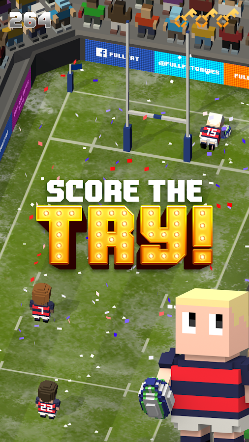 Blocky Rugby- screenshot