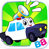 Toddler car games - car Sounds Puzzle and Coloring APK