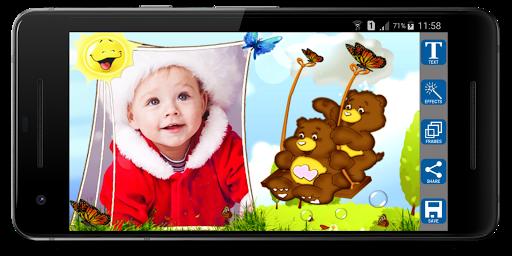 Foto do Quadros para Fotos de Crianças
