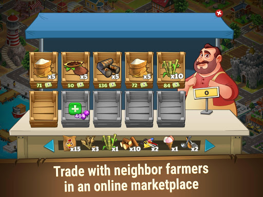Farm Dream: Village Harvest - Town Paradise Sim 1.3.0 screenshots 9