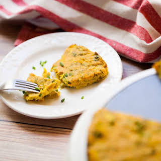 Broccoli & Leek Frittata (Vegan + GF).