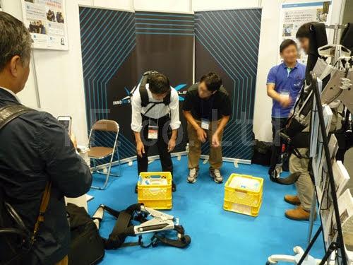 展示会 インテックス大阪 産業ロボット開発技術展 その10 ケイエフ