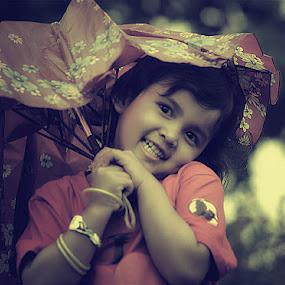 my tangled umbrella by Arief Siswandhono - Babies & Children Children Candids