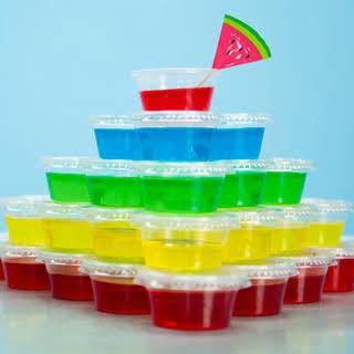 Basic Jello Shots.