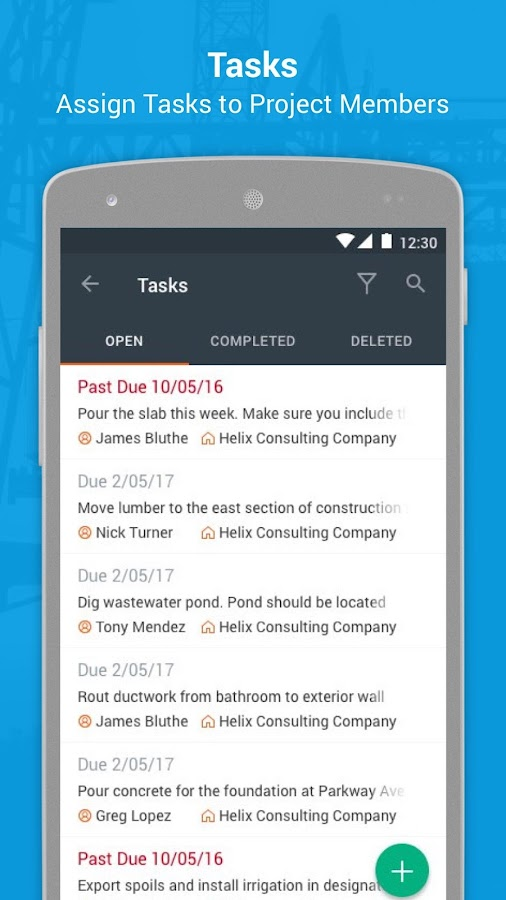 Raken Construction Daily Reports and Time Cards- screenshot