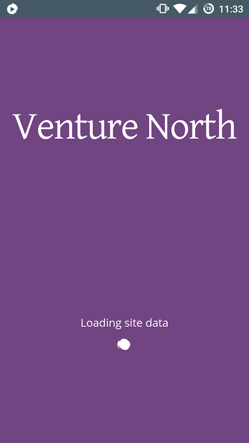 Venture North Heritage App- screenshot
