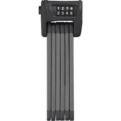 ABUS Bordo 6100 Combination Folding Lock: 90cm Black with Bracket