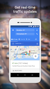 Google Maps Go - Directions, Traffic & Transit Screenshot