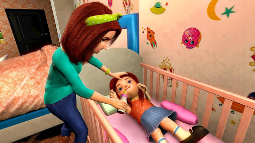 Virtual Mother Game: Family Mom Simulator 1.19 APK MOD screenshots 1