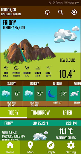 Screenshot for Weather Live Pro Weather Forecast Weather Channel in United States Play Store