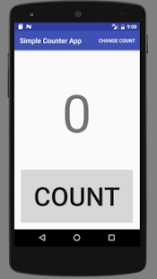 Simple Counter App for PC-Windows 7,8,10 and Mac apk screenshot 1