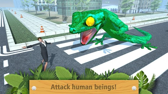Giant Lizard City Rampage Simulator - náhled