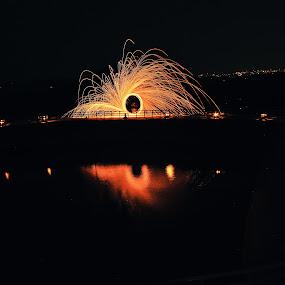 steelwool by Ferysetya Ma - Abstract Fire & Fireworks