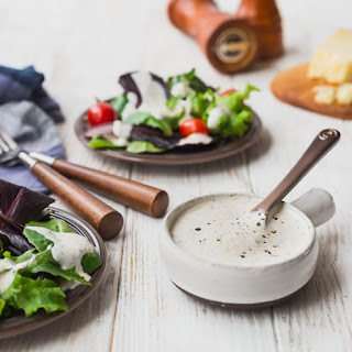 Parmesan Peppercorn Dressing - Healthy and Easy! Recipe