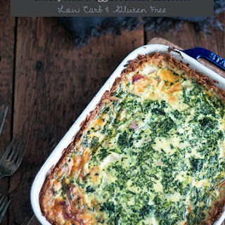 Ham & Cheese Low Carb Breakfast Casserole – Gluten Free.