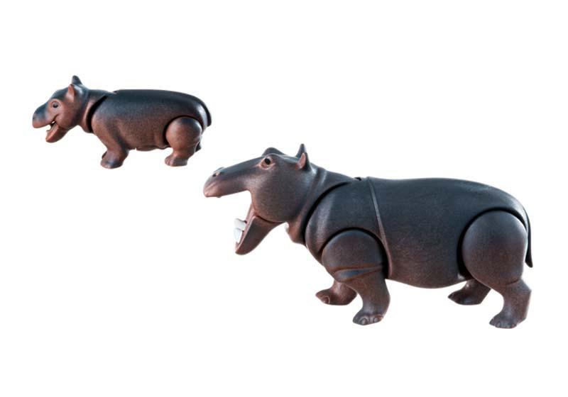 Contenido de Playmobil® 6945 Hipopótamos