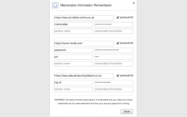 Memorable Information Rememberer