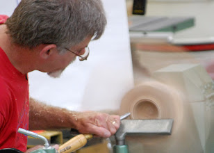 Photo: ... cleans the line up to the bead.