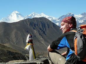 Photo: Auf dem Dach des Klosters von Dzong