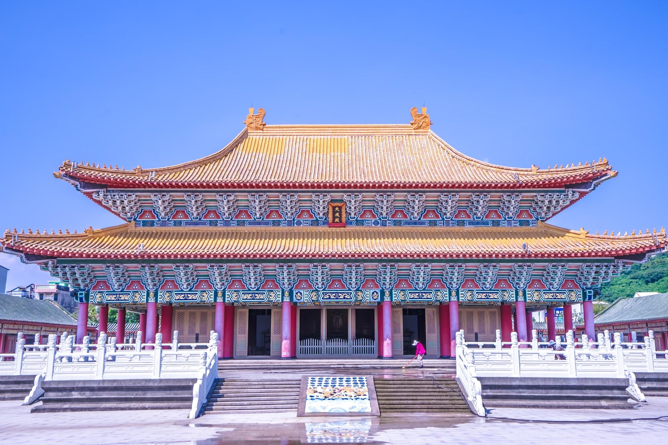 高雄 蓮池潭 孔子廟2
