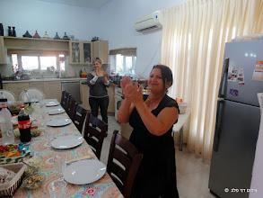 Photo: לילי מבית שאן מארחת לארוחת צהריים