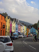 Photo: The main street of LLanberis. Well, almost the only street.