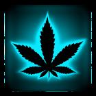 Rasta Blue Neon Keyboard icon
