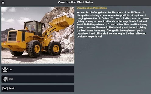 Construction Plant Sales- screenshot thumbnail