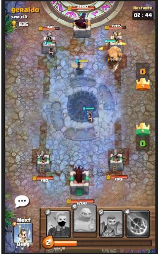 Code Triche Moba Heroes Arena APK MOD screenshots 3